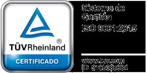 Certificado sistema Gestion ISO 9001 2015 Bianditz