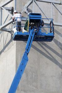 construcción trabajo en altura
